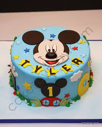 Mickey 1st Birthday Mickey Cake Party For Asher Mickey Cakes