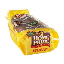 home pride wheat bread.  Bread Home Pride Butter Top Bread Wheat On