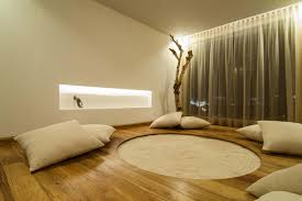 meditation room furniture. contemporary furniture simple decoration and furniture modern meditation room design with hardwood  floor tiles white fabric cushions plus wall lighting built in brown  for e