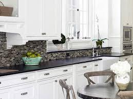 40 White Kitchen Interior Alluring Kitchen Backsplash White Cabinets Interesting Kitchen Backsplash Ideas White Cabinets