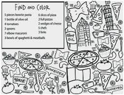 Menu Coloring Pages Pretty Coloring Pages For Restaurants Coloring