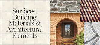 surfaces building materials architectural elements