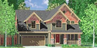 craftsman house plans house plans with bonus room over garage narrow lot house plans 40 x 40 house plans 10025