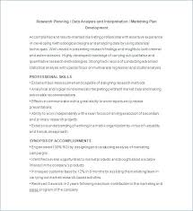 Data Analyst Resume Template Marketing Analyst Resume Template Free ...