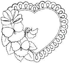 Love Heart Coloring Pages Coloring Book Fun Acessorizame