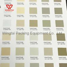 Pantone Brown Color Chart Us 950 0 Newest Pantone Fashion Home Tcx Color Chart Fhic300 Pantone Tcx Color Chart Cotton Planner In Pneumatic Parts From Home Improvement On