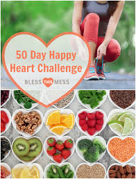 join me in the happy heart challenge 50 days to a happier healthier you