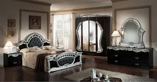 modrest rococco italian antique black silver bedroom set antique bedroom furniture black antique style bedroom