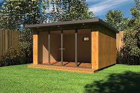 outdoor garden office. airy garden studio outdoor office d