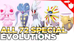 Pokemon Togepi Evolution Chart All 72 Special Evolutions In Pokemon Sword And Shield