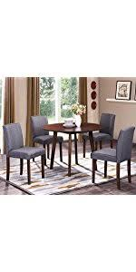 harper bright designs phoenix series dining room 3 piece table stool set harper bright designs heyward series upholstered on tufted ottoman bench