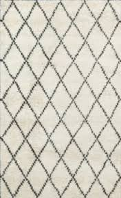 rugsville moroccan beni ourain ivory 10996 58 wool rug 10996 58