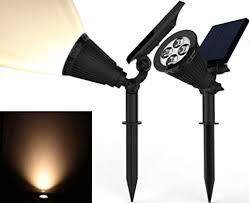 Solar Spotlights, Magictec Warm Light 2-in-1 ... - Amazon.com