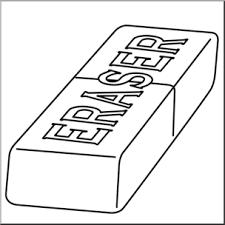 eraser clipart black and white. Wonderful Clipart Clip Art Eraser 1 Bu0026W I Abcteachcom  Preview Inside Clipart Black And White P