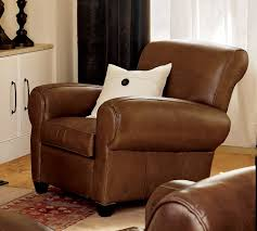 best leather recliner. Pottery Barn Recliners. Leather Recliner Manhattan Best R