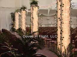 Columns For Decorations Chair Covers Of Lansing Columns And Backdrops