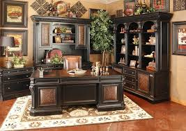 hooker office furniture. Telluride 4 Piece Executive Home Office Set In Distressed Black Finish By Hooker  Furniture Hooker Office Furniture E