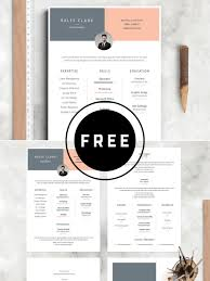 98 Awesome Free Resume Templates For 2019 Resume Templates