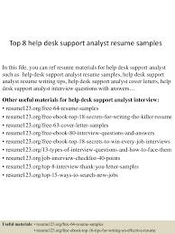 Sample Resume For A Midlevel It Help Desk Professional Monster Com