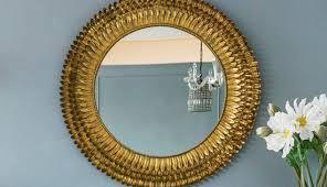 trim ornate likable mirrors golden cir pebble large wall coast tone panels frame gold finish mirror
