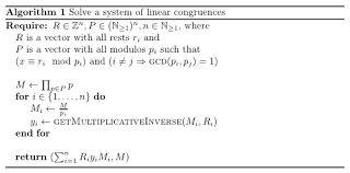 to solve linear congruence equations