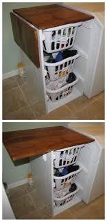 diy folding top for folding laundry cabinets shorter brook laundry basket dresser with