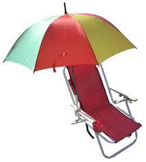 beach umbrella and chair. Modren Beach Beach Chair Umbrella In Rainbow Colors On And