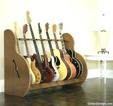 wooden guitar stand plans multiple blueprints wood multi