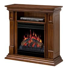 deerhurst burnished walnut electric fireplace a center dfp20 1268bw