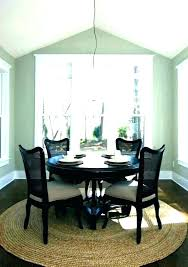 what size rug for dining table round dining table rug interior area rug under round dining what size