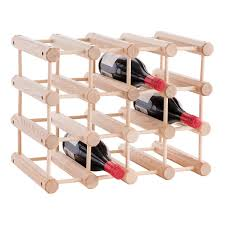 J.K. Adams Hardwood 12-Bottle Wine Rack ...