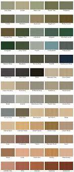 Cabot Semi Transparent Stain Color Chart Cabot Semi Solid Wood Stains Lots Of Colors In 2019