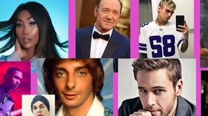 Celebrity Height Chart Tumblr 34 Celebrities Who Came Out In 2017 Newnownext