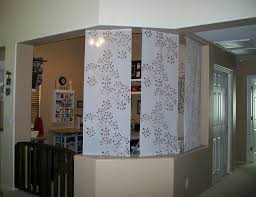 office separator. Home Design Interior Wall Separator Flower Pattern L Shaped Room Divider For Office With Railing Door
