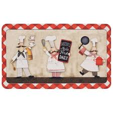 mohawk home three panel chefs 18 in x 30 in kitchen mat