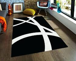 black and white accent rug black and white rug black and white striped accent rug