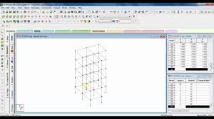 Design Of G 3 Rcc Building Staad Pro Analysis Design Of G 3 Building Part 1 Modelling