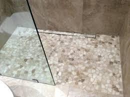 rock shower floor bathroom shower with river rock floor river stone shower floor installation rock shower floor river rock shower floor cleaning