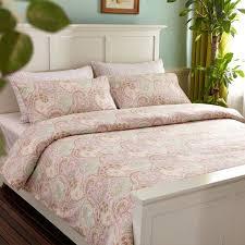 100 egyptian cotton pink duvet covers king size 1pc duvet cover1pc bed sheet2pc pillowcase