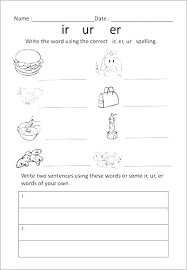 Aw Worksheets Printable R Controlled Vowels First Grade Ar