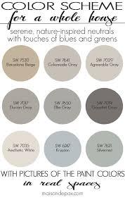 Color Schemes For Homes Interior Best Decorating Design