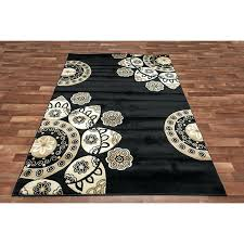 pictures gallery of black and cream area rug share