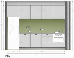One Wall Kitchens One Wall Kitchen Floor Plans