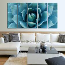 large wall art blue agave flower canvas prints for wall blue agave l extra large wall art canvas print on lotus flower canvas wall art with large wall art blue agave flower canvas prints for wall blue agave