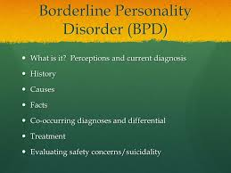 borderline personality disorder ppt video online 2 borderline personality
