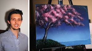 how to paint a cherry blossom tree a basic sd painting tutorial of a cherry tree for beginners you