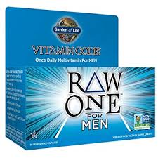 garden of life multivitamin for men vitamin code raw one whole food vitamin supplement with