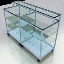 Display Stands For Pictures Simple Glass Display Stands With Aluminium Profiles Measures 332 X 32m