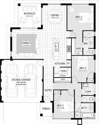 charming 3 br 2 bath house plans small plan 1200