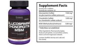 ultimate nutrition glucosamine chondroitin msm 90 tab 2